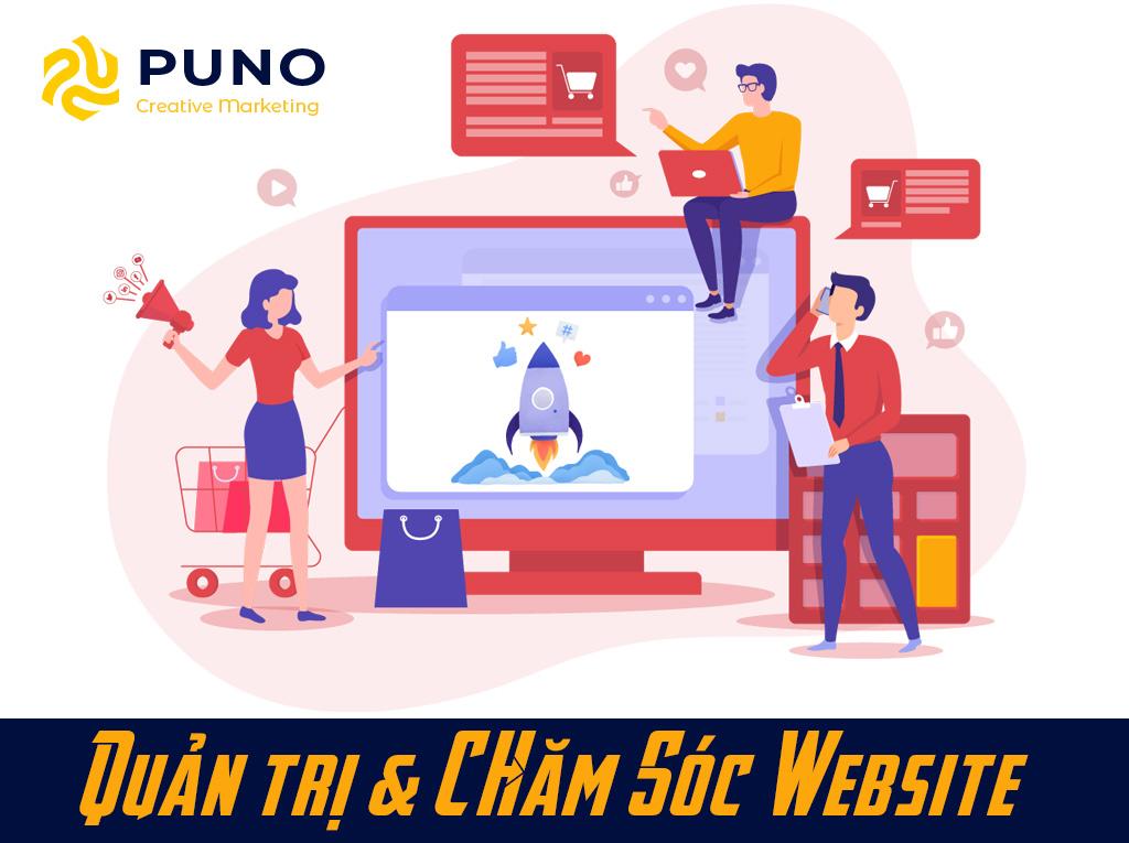 Chăm sóc website - PUNO Ads, quảng cáo google, facebook, zalo, tiktok, cốc cốc hàng đầu Việt Nam